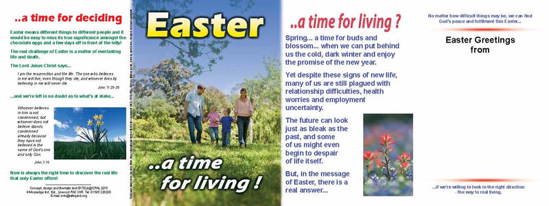TELIT - Easter a time for living