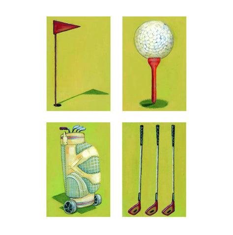 Birthday Card - Golf 2 - L77I02