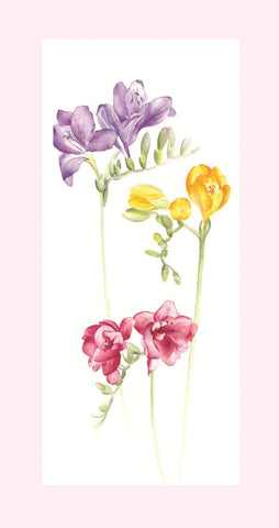 Birthday Card - Floral 3 - L95B02