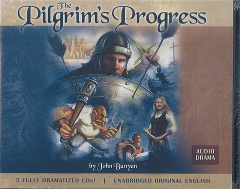 The Pilgrim's Progress Audio Drama (Set of 5 CDs)