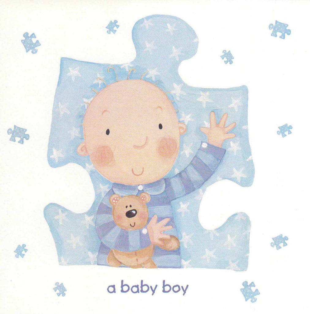 New Birth Card - A baby boy - RHFWMBC
