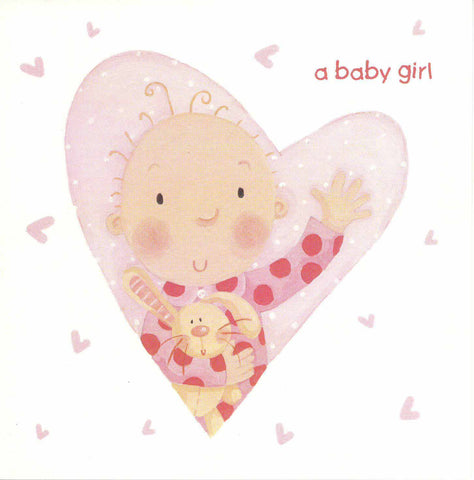 New Birth Card - A baby girl - RHSWMGC