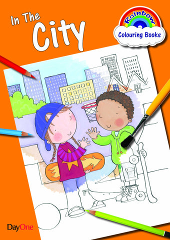 In the City Colouring Book