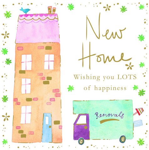 New Home Card - Van - S147
