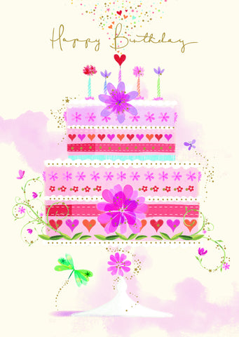 Birthday Card - Cake - S153