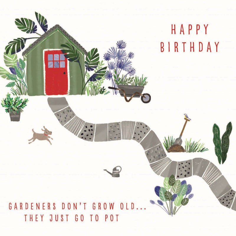 NEW - Birthday - Garden Shed - S205