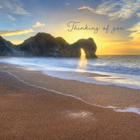 NEW - Thinking of you - Durdle Door, Dorset - S207