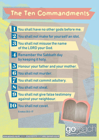 Poster - Ten Commandments