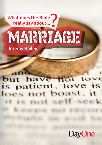 What does the Bible really say about...Marriage
