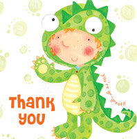 Thank you Card - Dinosaur - RHTHY1