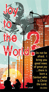 Joy to the world tract