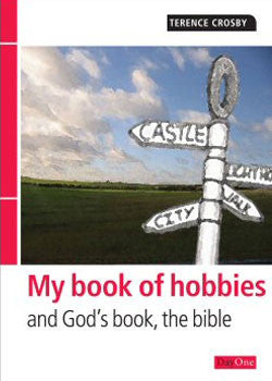 My book of hobbies and God's book the Bible
