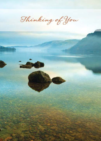 Thinking of you Card: Ullswater at sunrise: S157