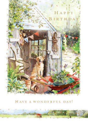 Birthday Card: Garden Day: S166