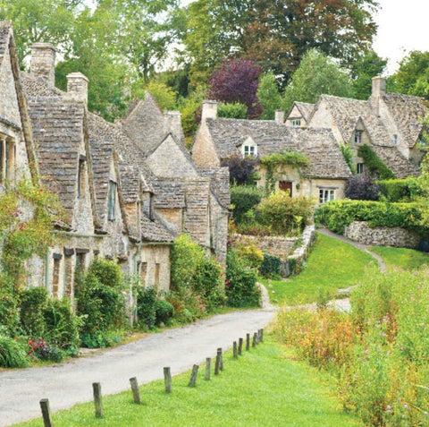 Blank Card: Cotswold Village of Bibury: S175