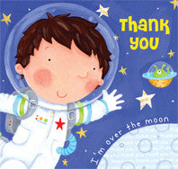 Thank you Card - Space -RHTHY3
