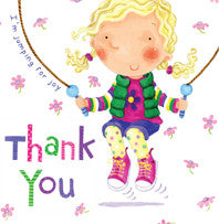 Thank you Card - Skipping - RHTHY4