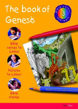 Bible Colour and learn: 03 Genesis