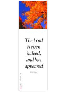 "Easter: ""The Lord is risen indeed"""