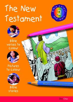 Bible Colour and learn: 02 New Testament