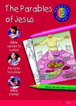 Bible Colour and learn: 15 Parables of Jesus