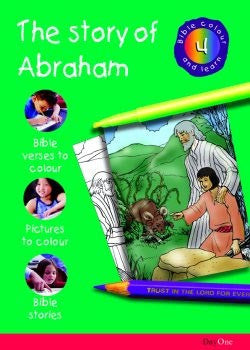 Bible Colour and learn: 04 Abraham
