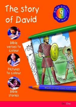 Bible Colour and learn: 09 David