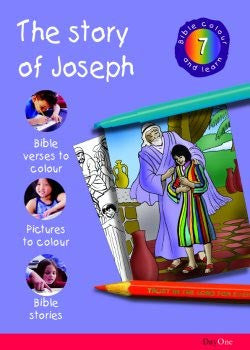 Bible Colour and learn: 07 Joseph
