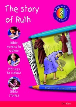 Bible Colour and learn: 08 Ruth