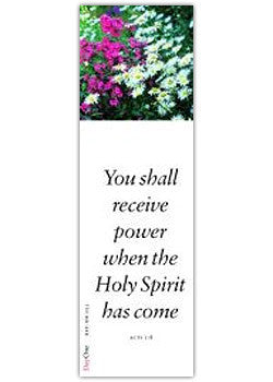 You shall receive power when the Holy Spirit has come