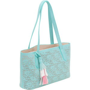 Signature tote with removable  pouch