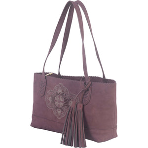 Spencer Tote - Bordeaux