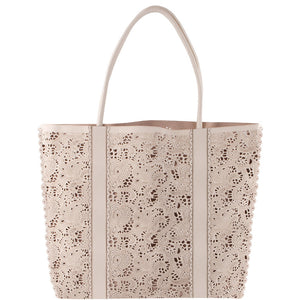 The MJ Lace Tote