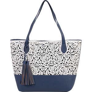 Flower Bomb Large Tote