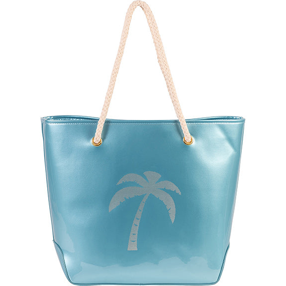 Island Rope Tote with Cosmetic case