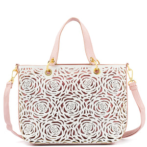 Convertible Flower Bomb Satchel