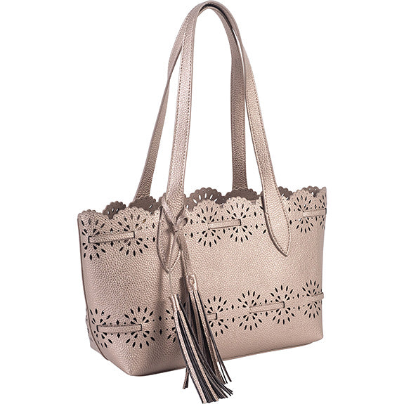 Gallery Lace Small Tote