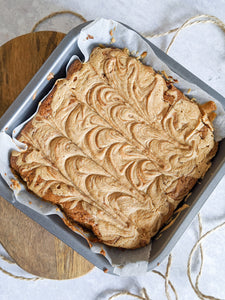 Peanut Butter Blondie (Vegan)