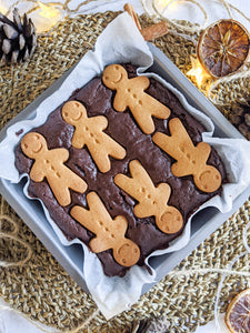 Gingerbread Brownie (Vegan, GF)
