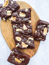 Load image into Gallery viewer, White Chocolate and Marshmallow Brownie (Vegan, GF)