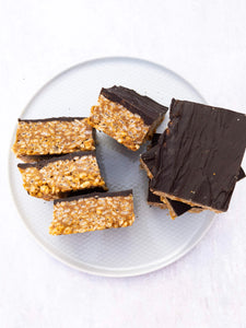 Signature Peanut Butter Snap Bars (Vegan, GF)