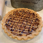 Load image into Gallery viewer, Caramel Turtle Pie - 9""