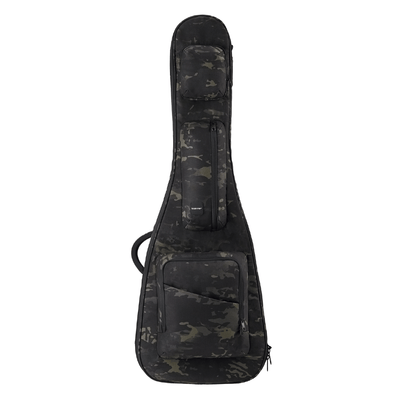 Black Camo ACME Series electric bass bag obverse displayed