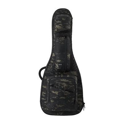 Black Camo ACME Series electric guitar bag obverse displayed