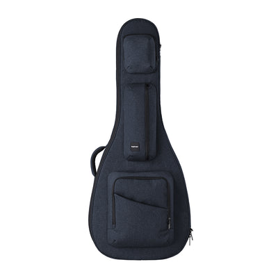 Blue ACME Series semi hollow guitar bag obverse displayed