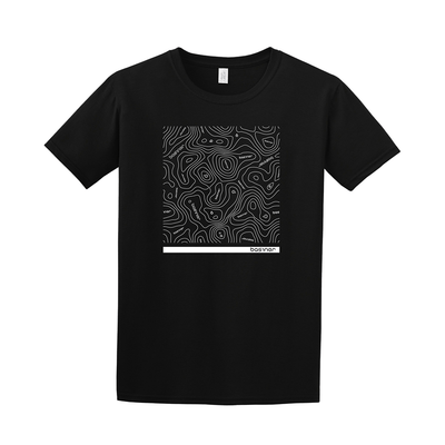 basiner ContourLine T-Shirt in balck