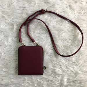 Burgundy Crossbody Purse