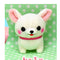 Amuse Chubby Chihuahua (Dog) - Odekake series  - Mini Strap Muchi (Cream)