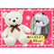 Amuse Lovely Rose Bear White - BIG