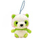 Amuse Colorful Panda Baby - Mini Strap Green